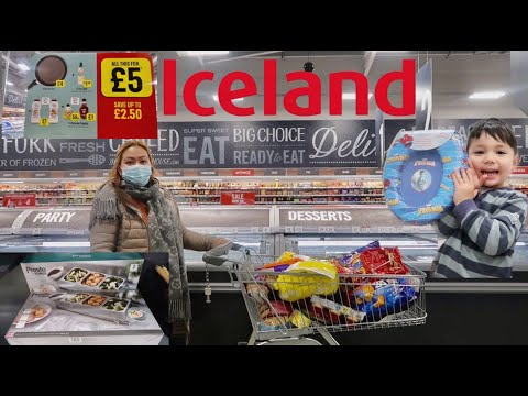 ICELAND SHOP WITH ME | £45 FOOD HAUL