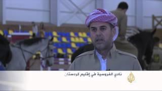 انتشار مراكز تدريب الفروسية بكردستان العراق