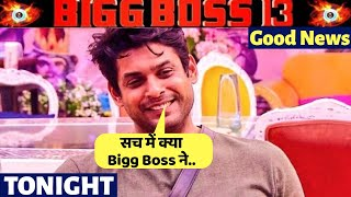 BiggBoss 13, Good News For Siddharth Shukla, Here's What, BB 13 Latest Update