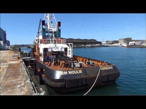 Remorqueur ; Tug ; Bordeaux ; RM Moulis ; Port de Pêche ; Lorient ; Bretagne ; France