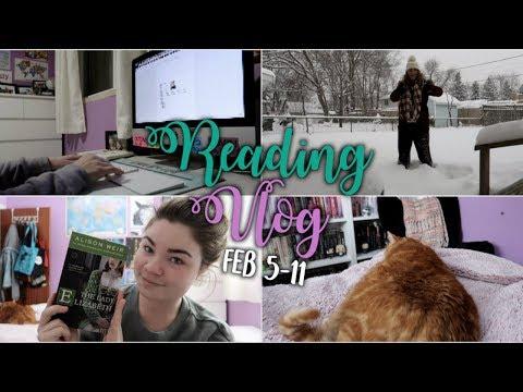 FINISHING MY NOVEL OUTLINE   Reading Vlog February 5-11