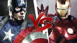 CAPITÃO AMERICA VS HOMEM DE FERRO l (Batalha de RAP) - Batalha de RAP #17 ♫