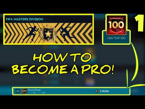 HOW TO BECOME A PRO PLAYER IN H2H EPISODE 1! MY JOURNEY TO 50TH IN THE WORLD! FIFA MOBILE 20!