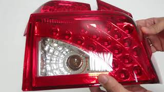 Блок фонарей ВАЗ 2110-2112 (DL-5267 NLG)