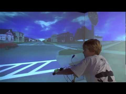 University of Iowa Bicycling Simulator on YouTube
