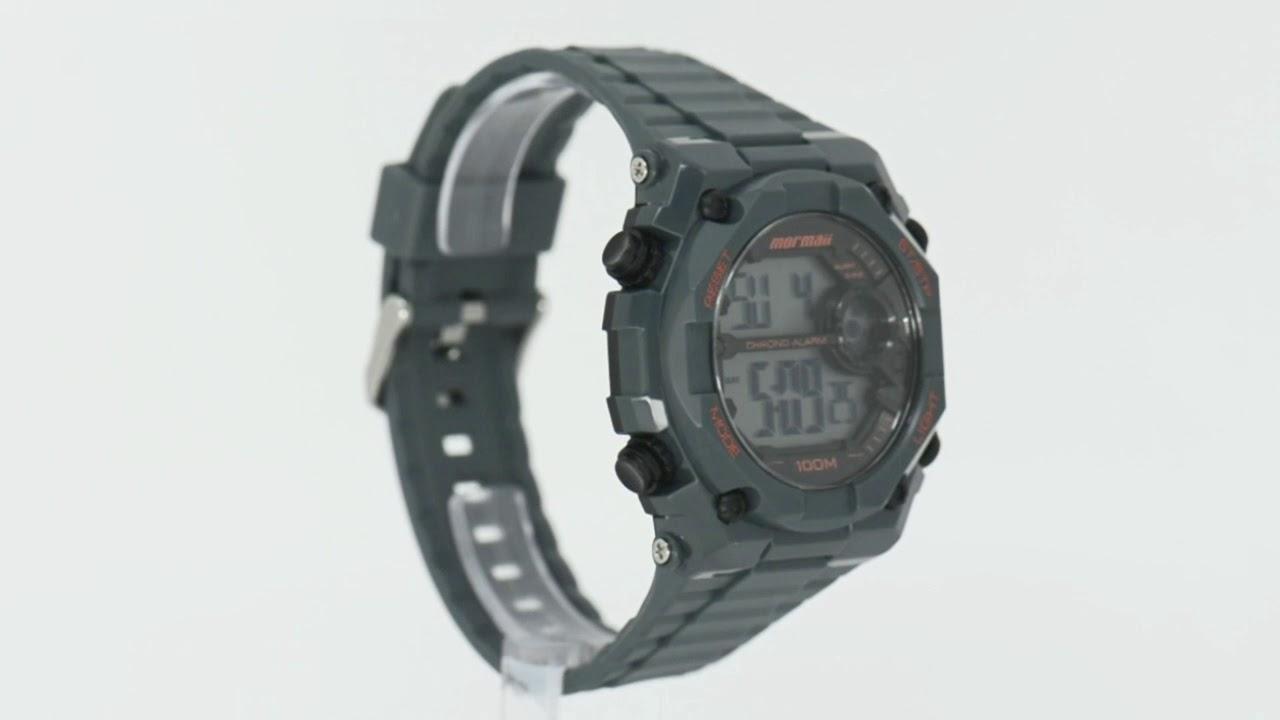 55561925ce5b3 Relógio Mormaii Masculino MOY1538 8C - Eclock - YouTube