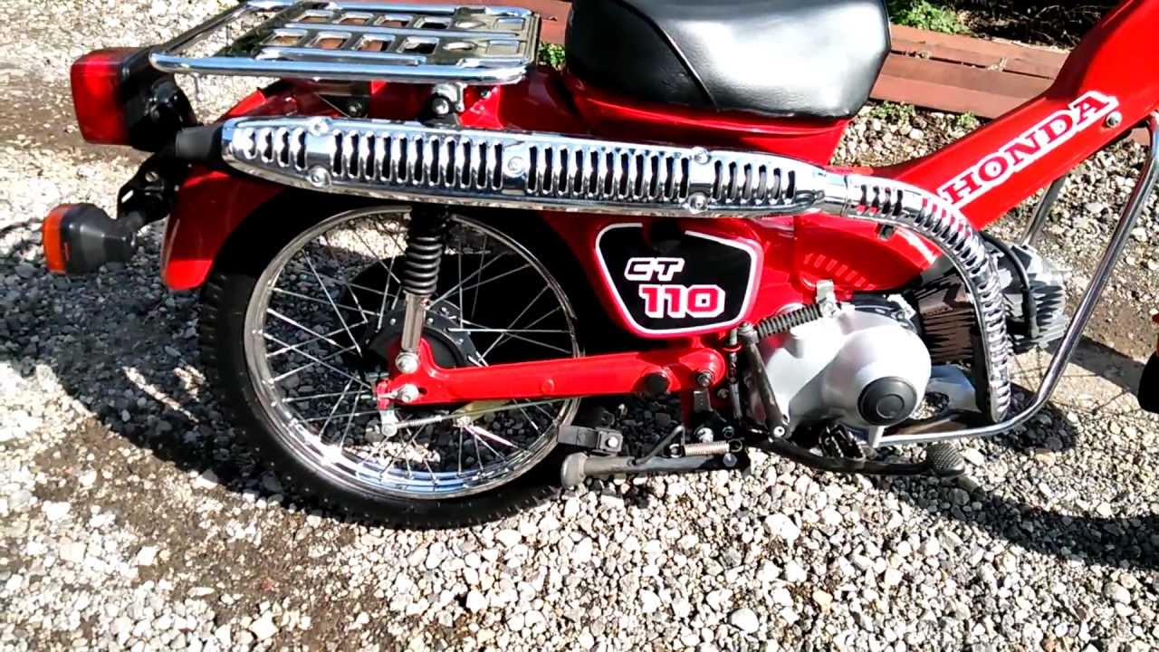 how to make a honda ct110 faster