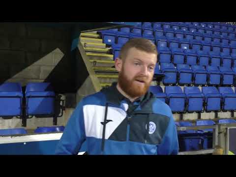 Brian Easton   Post Match v Dundee   30-12-17