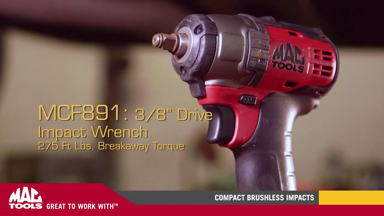 Mac Tools compact 20v Max brushless impact driver and wrench