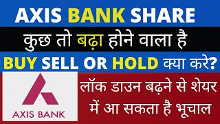 AXIS BANK BUY SELL OR HOLD AT 420 RS | कुछ तो बढ़ा होने वाला है Axis Bank Share Price Analysis