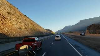 Дальнобой США. Из ЛосВегаса до СалтЛейкСити горы и холмы.