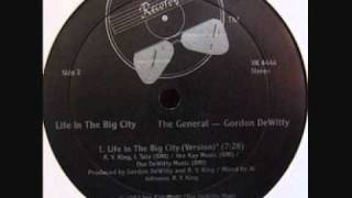 Boogie Down - The General (Gordon DeWitty) - Life in The Big City