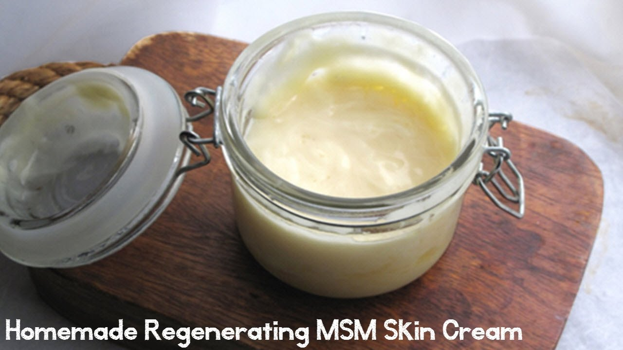 Homemade MSM Creams - How To Guide
