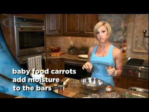 Jamie Eason's Carrot Cake Protein Bars - Bodybuilding.com