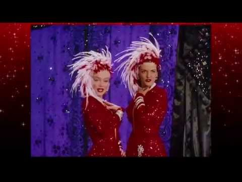 Marilyn Monroe & Jane Russell -Two little girls from Little Rock