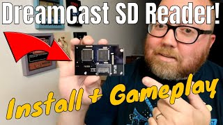 Dreamcast SD Card Reader - GDEMU Plays Roms on Actual Hardware!