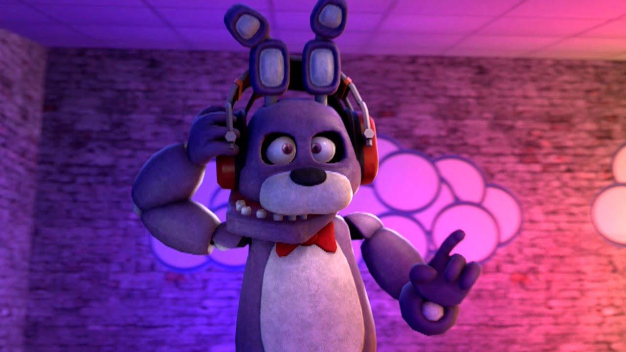 Five Nights At Freddy's Bonnie Animated bonnie wanna rock! five nights at freddy's [sfm fnaf animation]