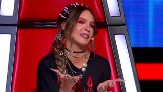 Belinda Hablando Italiano en La Voz