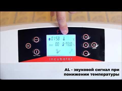 Настройка инкубатора HHD 56 LED