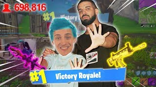 Ninja and Drake Play Fortnite: Battle Royale TOGETHER! (Win!) - Full Duos & Funny Twitch Moments!
