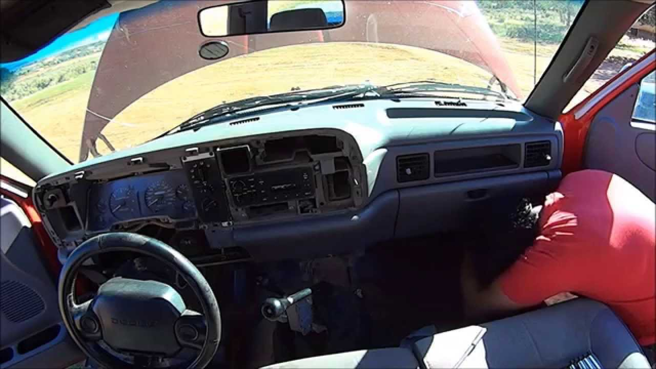 19941997 Dodge Ram Heater Core replacement pt1  YouTube