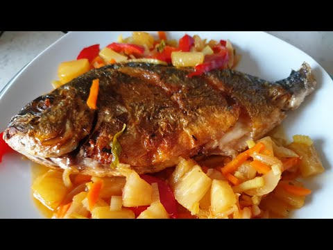 Sweet & Sour Fish With Pineapple