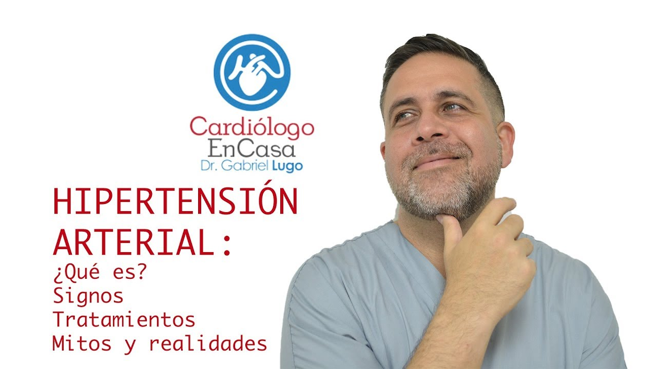 Signos de hipertensión arterial y tratamiento