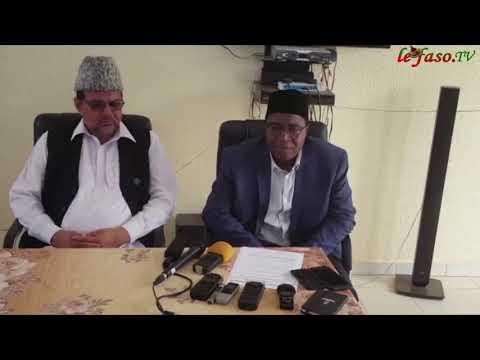 ''Jama'at islamique Ahmadiyya'' du Burkina Faso : La 27e édition de la conférence « Jalsa Salana »