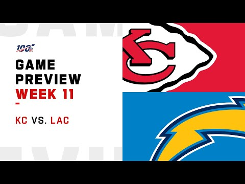 Kansas City Chiefs vs Los Angeles Chargers Week 11 NFL Game