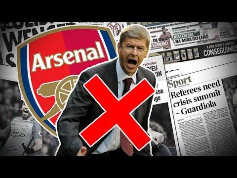 Arsenal négocie avec un sacré coach pour remplacer Wenger   Revue de presse