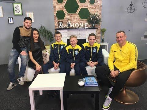 Розвиток дитячого та юнацього футболу у Чернігові. Ранок (14.12.19)