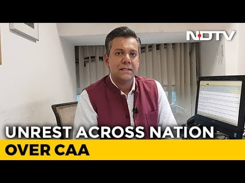 Students Across India Protest Against Police Violence. CAA   NDTV Newsroom Live - YouTube