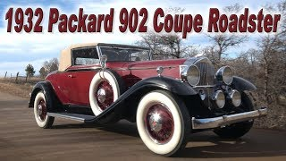 1932 Packard 902 Test Drive