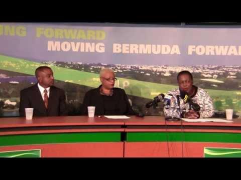 PLP Announce Candidate Linda Merritt Bermuda December 8 2011