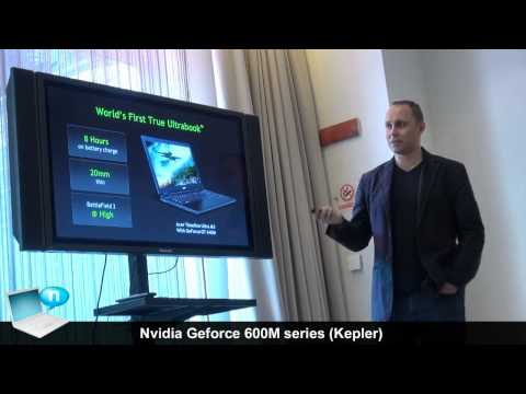 GPU Nvidia GeForce 600M - Performance ed efficienza per notebook e ultrabook