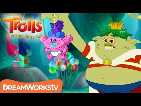 Trolls & Bergens Party Together! | TROLLS: THE BEAT GOES ON!