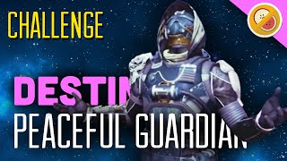 "DESTINY CHALLENGE ""Peaceful Guardian"" Crucible Restraints (Funny Moments)"