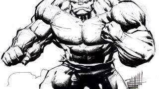 Drawing & Inking The Hulk (with Whilce Portacio)