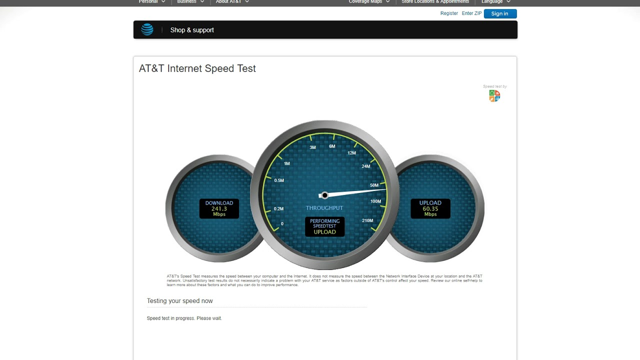 Telekom 5G - AT&T - Speed Test - YouTube