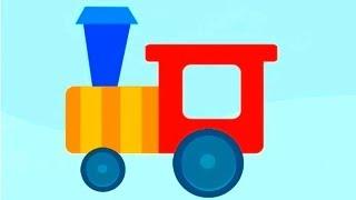 Собираем пазлы - обзор детского приложения Zoo Train
