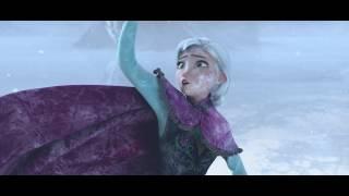 FROZEN ANNA, ELSA vs. Hans sword scene on ice