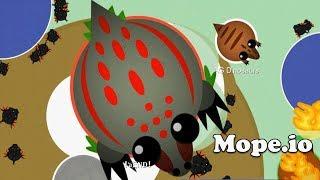 Mope.io Mod Godzilla vs Black Dragons and Prehistoric Dinosaurs Mope.io Uncut Speed Funny Gameplay