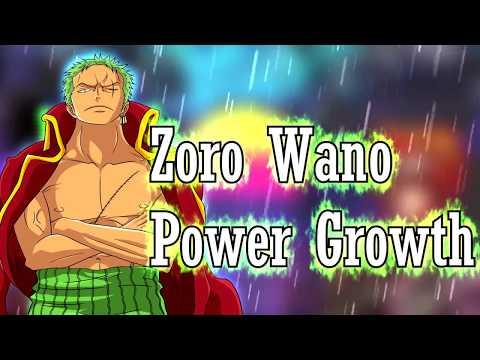 One Piece – Zoro Power Growth At Wano   Haki Potential