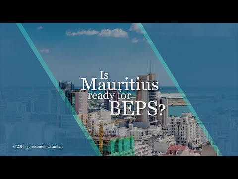 Is Mauritius ready for BEPS? - Juristconsult Webcast 2016