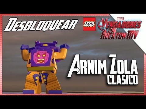 LEGO Marvel Avengers | Desbloquear ARNIM ZOLA | Washington DC