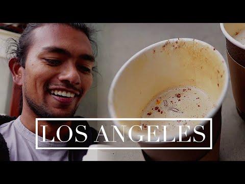 Los Angeles Coffee Shops- Top 3 cafes by the beach (Santa Monica + Venice Beach)- Coffee Vlog