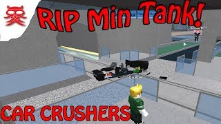RIP MIN TANK - CAR CRUSHER - Roblox Dansk