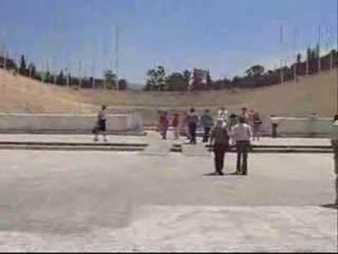 Athens, Greece - Olympic stadium and city tour