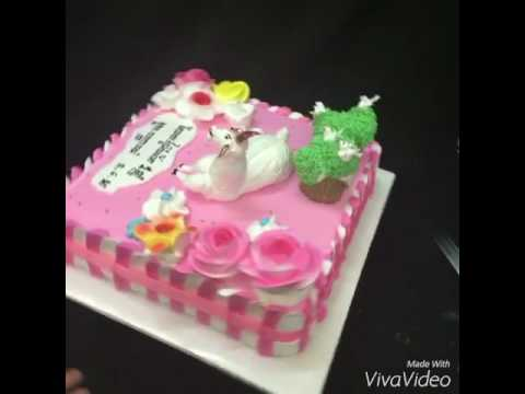 How to make new style animals cake YouTube
