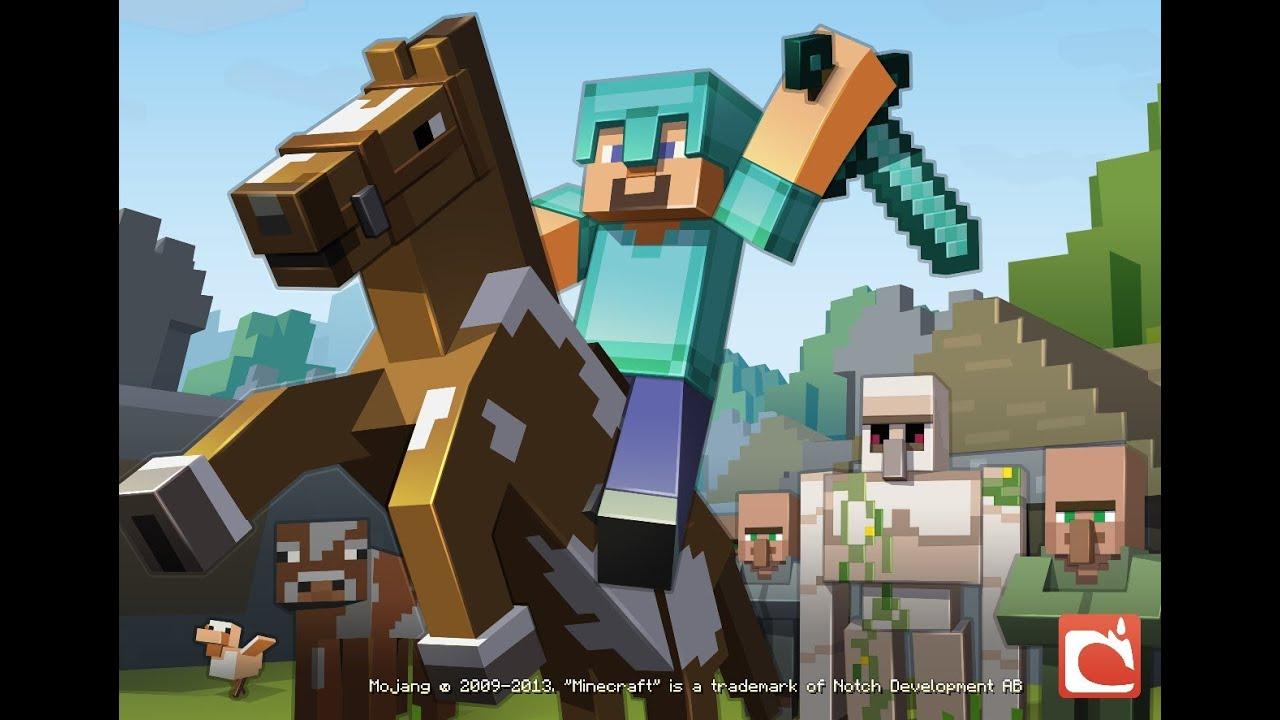 Astuce minecraft comment accoupler 2 chevaux dans minecraft youtube - Cheval minecraft ...